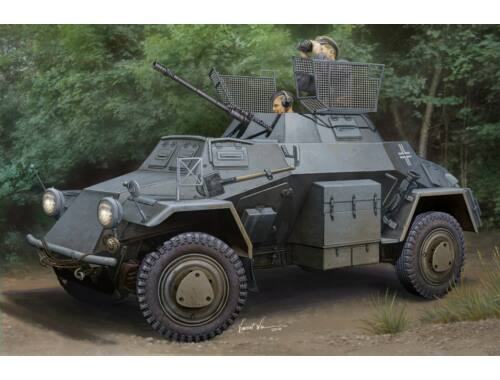 Hobby Boss German Sd.Kfz.222 Leichter Panzerspahwag 1:35 (83815)