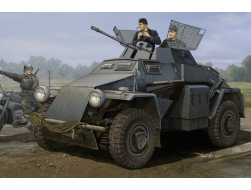 Hobby Boss German Sd.Kfz.222 Leichter Panzerwagen 1:35 (83816)