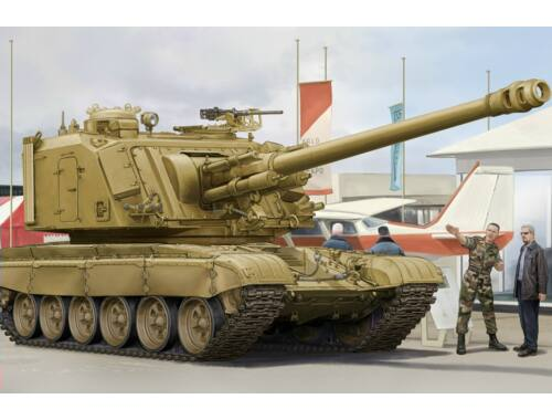 Hobby Boss GCT 155mm AU-F1 SPH Based on T-72 1:35 (83835)