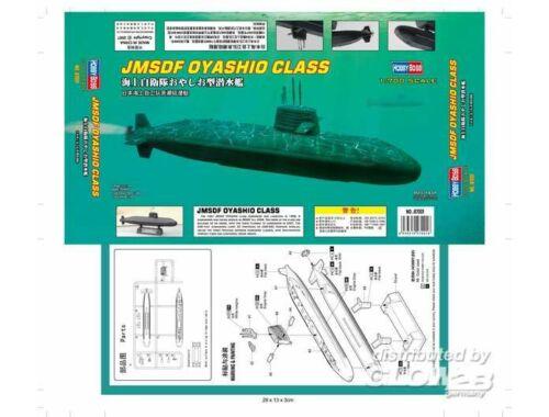 Hobby Boss JMSDF OYASHIO CLASS 1:700 (87001)