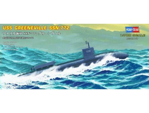 Hobby Boss USS Navy Greeneville submarine SSN-772 1:700 (87016)