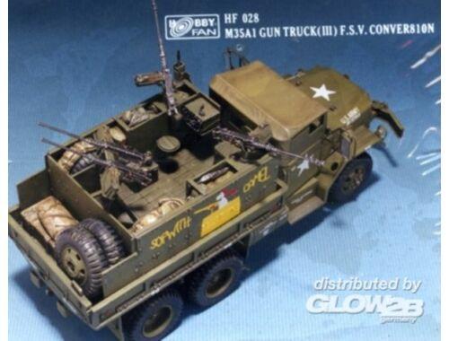 Hobby Fan M35A1 Gun Truck (III) F.S.V. Conversion 1:35 (HF028)