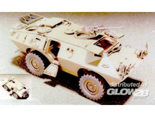 Hobby Fan V150 Commando 4x4 Armored Cars W/Interio 1:35 (HF033)