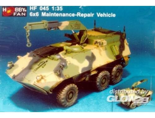 Hobby Fan 6x6 Maintenance-Repair Vehicle 1:35 (HF045)
