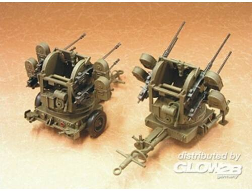 Hobby Fan M55 Cal.50 Machine Gun Trailer 1:35 (HF061)