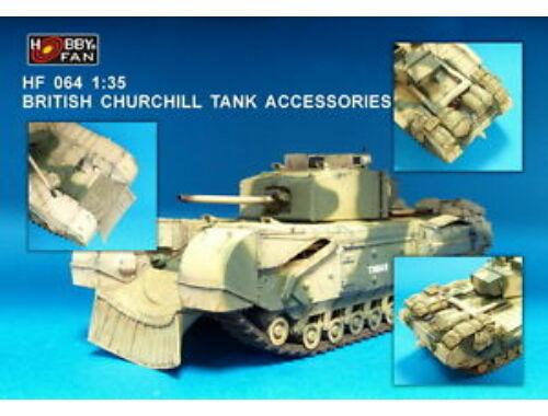 Hobby Fan British Churchill Tank Accessories 1:35 (HF064)