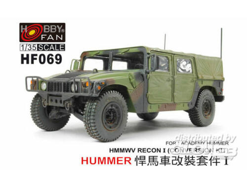 Hobby Fan Conversion HMMWV for HUMMER-I ACADEMY 1:35 (HF069)