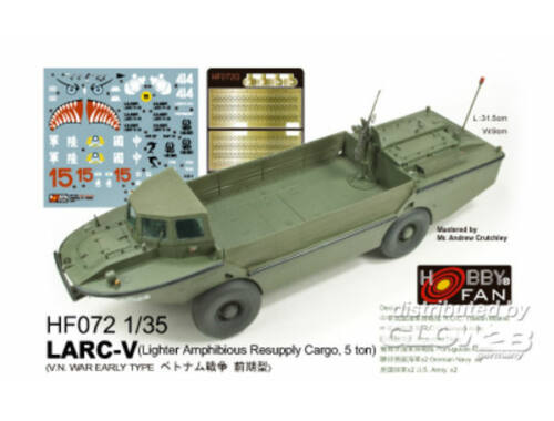 Hobby Fan LARC-V (V.N. War early Type) 1:35 (HF072)