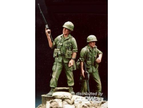 Hobby Fan 196th Inf Bde safeguards Vietnam ´68 w/B 1:35 (HF502)