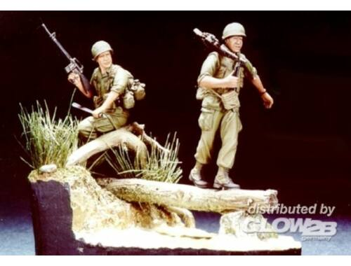 Hobby Fan 1st Infantry Div. Balance Vietn. ´68 w/B 1:35 (HF505)