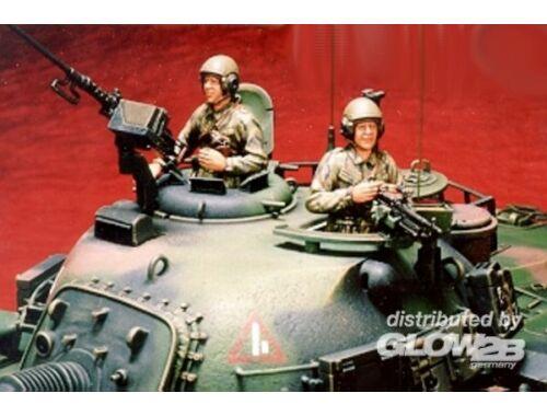 Hobby Fan Tank crew for M48H RROC 1:35 (HF506)