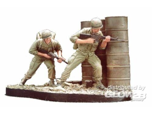 Hobby Fan U.S. Marines Battle of Hue 1968(3) w /B 1:35 (HF510)
