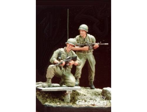Hobby Fan U.S. Marines Battle of Hue 1968(4)w/base 1:35 (HF511)