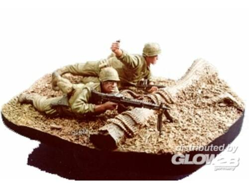 Hobby Fan U.S. Marine gunner   grenadier with base 1:35 (HF517)