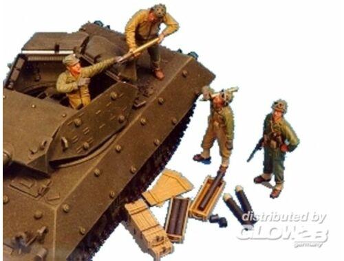 Hobby Fan U.S. M10/M18 Tank Crew-4 Fig. Suppl.AMMO 1:35 (HF522)