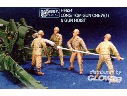 Hobby Fan Long Tom Gun Crew(1)   Gun Hoist 1:35 (HF524)