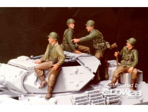 "Hobby Fan U.S. M10 Tank Infantry- 4 Fig. ""Pick Up"" 1:35 (HF529)"