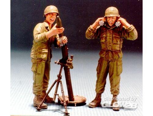 Hobby Fan U.S. V.N. war M29 81mm Mortar w/Crew 1:35 (HF531)