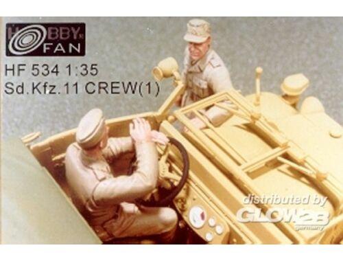 Hobby Fan Sd.Kfz.11 Crew(1) 1:35 (HF534)
