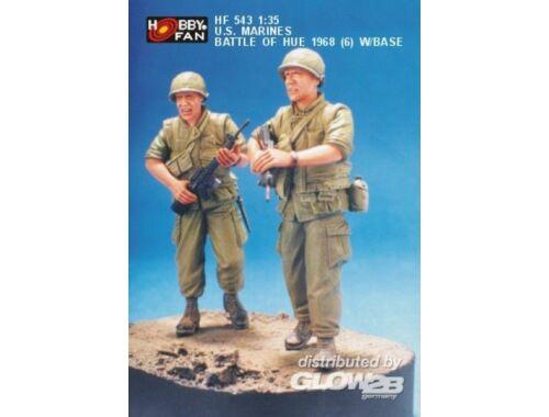 Hobby Fan U.S. Marines Battle of Hue 1968 (6) w/B 1:35 (HF543)