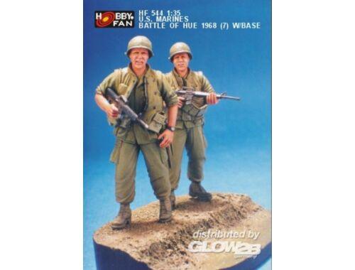 Hobby Fan U.S. Marines Battle of Hue 1968(7) w/B 1:35 (HF544)