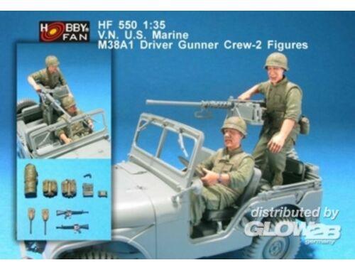 Hobby Fan V.N U.S. Marine M38A1 driver gunner-2Fig 1:35 (HF550)