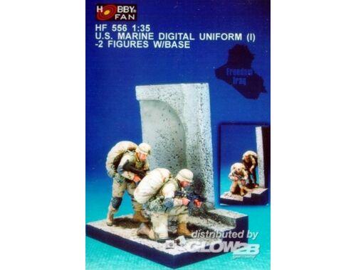 Hobby Fan U.S. Marine digital uniform (1)- 2F. w/B 1:35 (HF556)