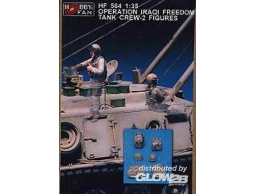 Hobby Fan Operation Iraqi Freedom Tank Crew-2 Fig. 1:35 (HF564)