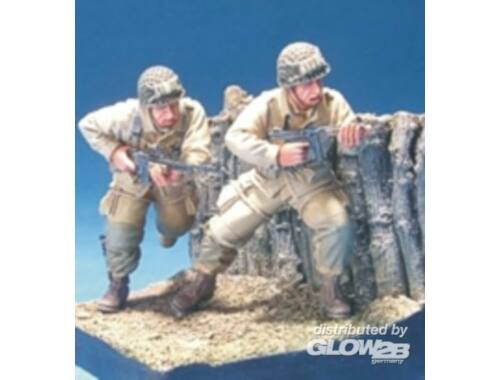 Hobby Fan U.S. Airborn in D-Day 2 Figures 1:35 (HF565)