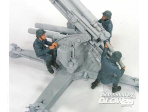 Hobby Fan 88mm Flak Crew Set 2(Luftwaffe)-3 Fig. 1:35 (HF569)