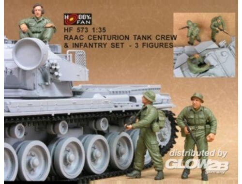Hobby Fan RAAC Centurion Tank Crew   Inf.set- 3Fig 1:35 (HF573)