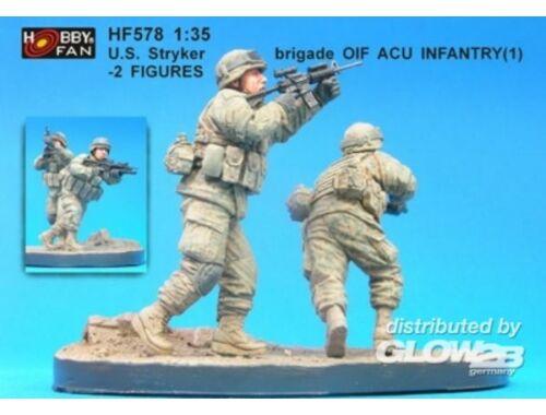 Hobby Fan U.S. Stryker brigade(1) infantry- 2 Fig. 1:35 (HF578)