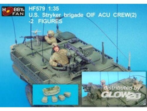 Hobby Fan U.S. Stryker brigade OIF ACU Crew(2)-2F. 1:35 (HF579)