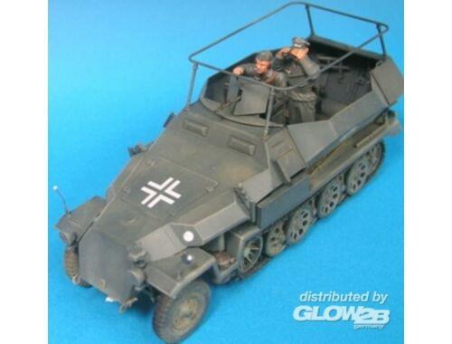 Hobby Fan German HG Panzer Div. Command Crew- 2Fig 1:35 (HF580)