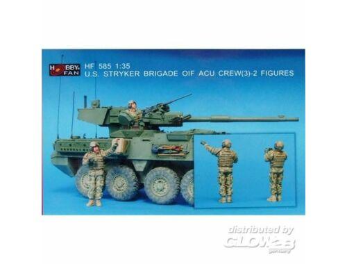 Hobby Fan U.S. Stryker Brigade OIF ACU crew(3)2Fi 1:35 (HF585)