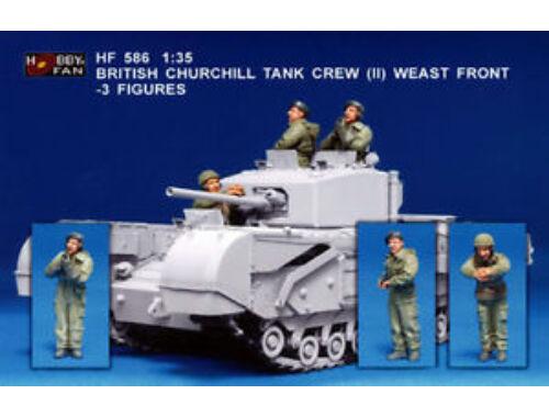 Hobby Fan Brit. Church. Tank Cr. (II) West Fr./3F 1:35 (HF586)