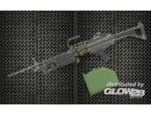 Hobby Fan Resin arms U.S. M249 Minimi machine gun 1:35 (HF604)