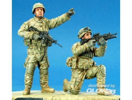 Hobby Fan U.S. Stryker Brigade OIF ACU crew I 1:35 (HF701)