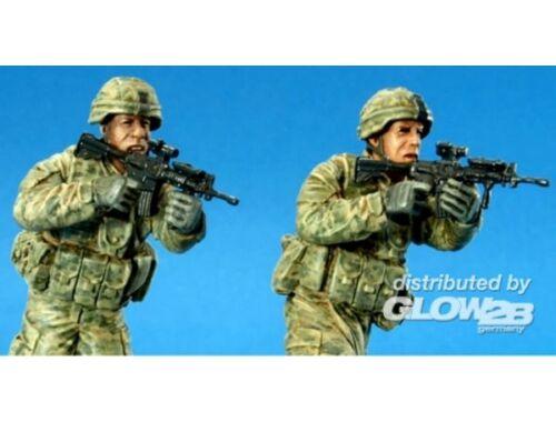 Hobby Fan U.S. Stryker Brigade OIF ACU crew II 1:35 (HF702)