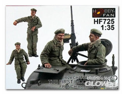 Hobby Fan Crew for Chaffee light Tank the first In 1:35 (HF725)