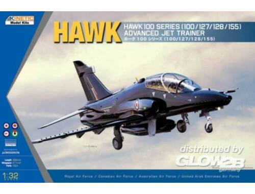 Kinetic Hawk 100 Series Advanced Jet Trainer 1:32 (3206)