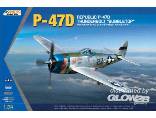 Kinetic P-47D Thunderbolt Bubbletop 1:24 (3207)