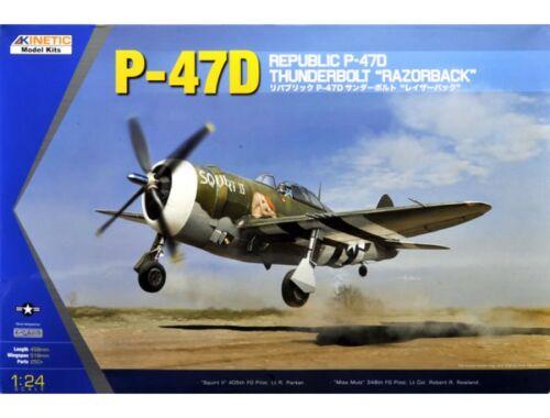 Kinetic P-47D Razor Back 1:24 (3208)