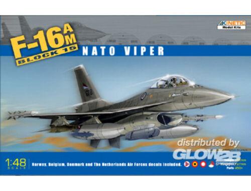 Kinetic F-16A/M Block 15 Nato Viper 1:48 (48002)