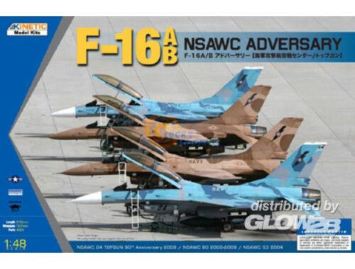 Kinetic F-16A/B NSAWC Adversary 1:48 (48004)