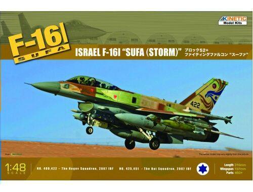 Kinetic Israel F-16I SUFA (Storm) 1:48 (48006)