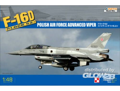 Kinetic F-16D Block 52  (HAF/Poland AF) 1:48 (48010)