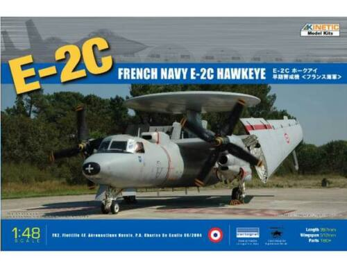 Kinetic E-2C French Navy Hawkeye 1:48 (48015)