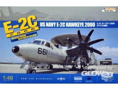 Kinetic E-2C 8 Blades 1:48 (48016)