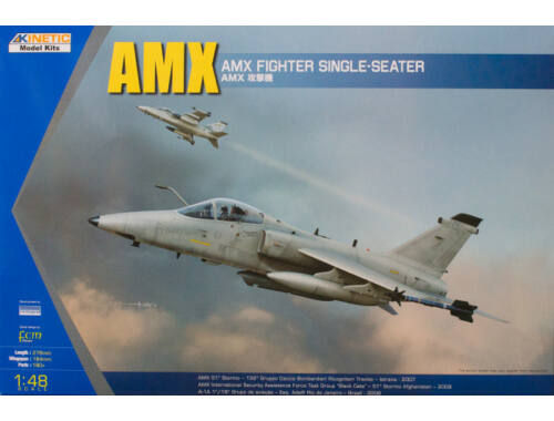 Kinetic AMX Single Seat Fighter 1:48 (48026)